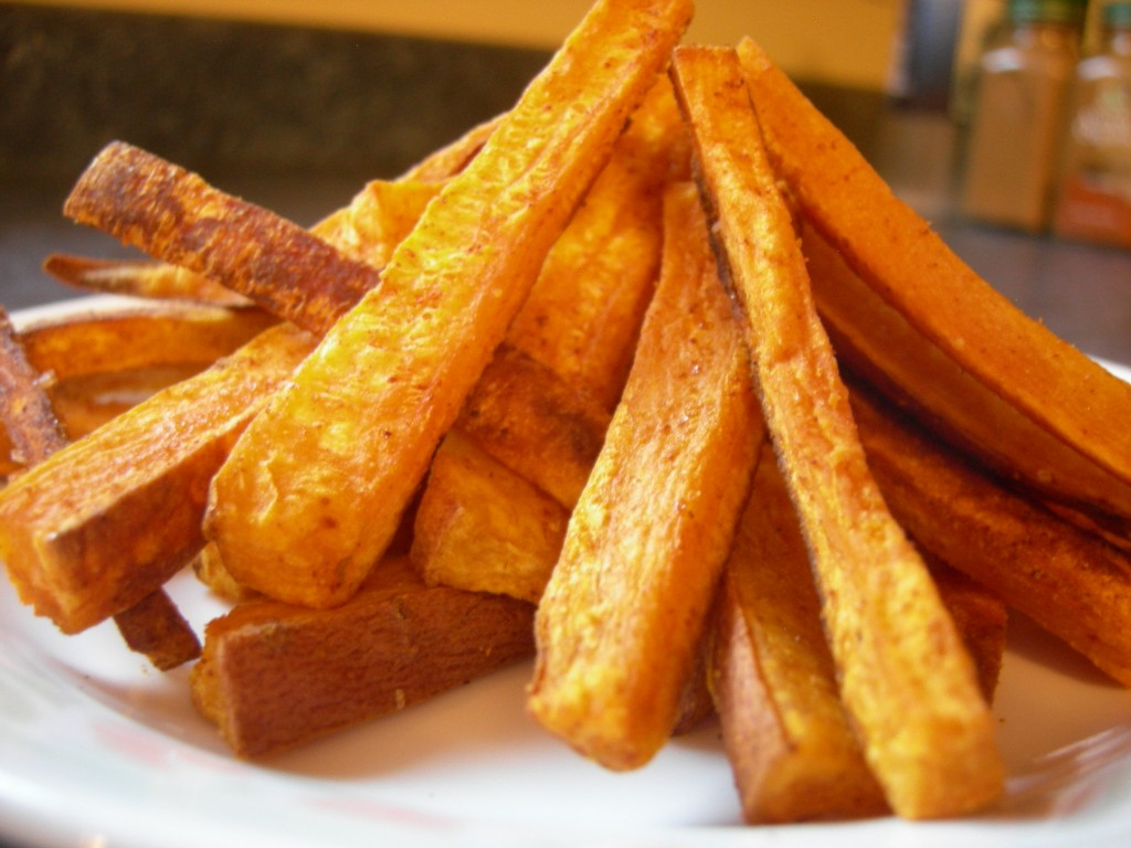 Spicy Baked Sweet Potato Fries | Embodied Living with Sirena Bernal